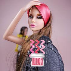 https://flic.kr/p/21pX5Fs | Poppy Parker In Dior | Model  [ Mutya ] MISS AMOUR Poppy Parker