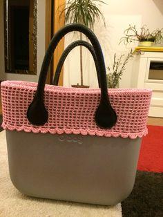 Bordo in cotone fatto a mano per O bag mini