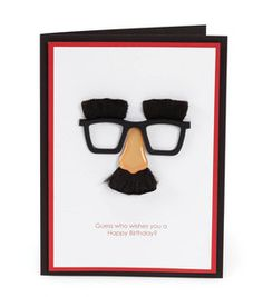 Mini Nose and Glasses Card : crafts :  Shop | Joann.com