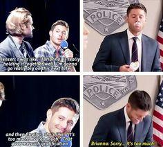 Jensen Ackles, gotta love him Sam Dean, Winchester Boys, Winchester Brothers, Jared Padalecki, Misha Collins, Castiel, Jensen Ackles, Bae, Supernatural Tv Show