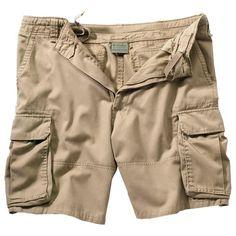 Mens+Shorts+-+Vintage+Cargo,+Khaki,+3X-Large+by+Rothco