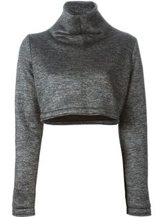 Shop Victoria/Tomas turtle neck cropped sweatshirt in Entrance from the world's best independent boutiques at farfetch.com. Shop 300 boutiques at one address.