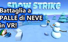 Snow Strike VR - Battaglia a PALLE di NEVE in VR - Android VR Avete mai pensato di giocare a palle di neve in casa, e magari pure d'estate? Cosa? Credete sia impossibile? Non con Snow Strike VR! Snow Strike VR è un gioco per Android che ci proietta in un mondo #giochivr #giochiandroid #vr #action