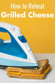 Reheating a grilled cheese sandwich, is it possible? We provide step-by-step instructions when it comes to warming up this popular sandwich. Find out the pros and cons when you reheat grilled cheese as well as the best methods available. #grilledcheese #grilledcheesesandwich #reheatfood Step By Step Instructions, Sandwiches, Things To Come, Cheese, Popular, Food, Most Popular, Meals, Yemek