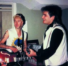 ♫'''...Brian Setzer and Mike Peters...☺...'''♫  http://www.thealarm.com/press