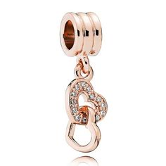 Pandora Rose Interlocked Hearts Charm 781242CZ More