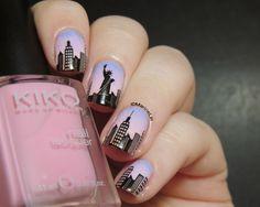 Marine Loves Polish: Nailstorming - Destination de rêve [Un jour, jirai à New York avec toi...]