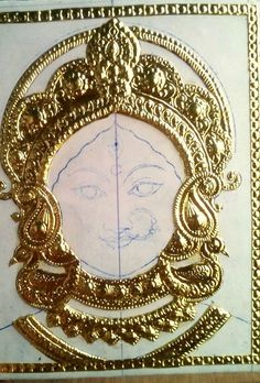 How to make the most authentic & divine Tanjore painting - Chola Impressions - An ISO certified company