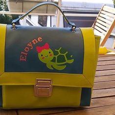 Aud'ReyVerie sur Instagram: Ok je suis fan de cette petite tortue 🐢 😍 Un joli sac Quadrille de @patrons_sacotin réalisé avec le coton @dashwoodstudio Into the Sea par…