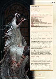 Bloodborne Monster Manual by DM Tuz - Part 1 - Imgur Dungeons And Dragons Classes, Dungeons And Dragons Homebrew, Fantasy Monster, Monster Art, Monster Shapes, Mythical Creatures Art, Mythological Creatures, Bloodborne Concept Art, Dnd Dragons