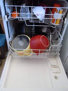 Make your own dishwasher detergent. I want to try this and see if my dishes come out sparkling clean!
