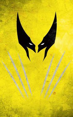 Minimalist Superhero Posters - Calvin Lin