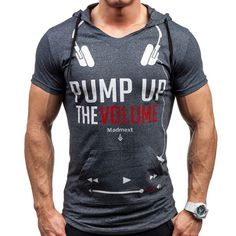 Camisetas hombre 2016 Brand - Name Clothing Letters Printed Tee T-Shirt Men Casual Cotton Short-Sleeved Tshirt Homme Compression