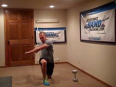 Dumbbell-Band Contrast Workout