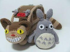 Amigurumi To Go!: Grey Totoro Free Crochet Pattern Plus Video Tutorial