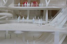 Architectural model of Fulton Centre by Grimshaw Architects – New York, United States. Completion 2014. http://www.architecture.com