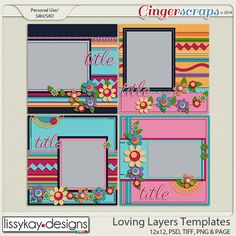Loving Layers by Lissy Kay Designs http://store.gingerscraps.net/Loving-Layers-by-LissyKay-Designs.html