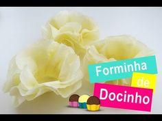 Diy forminhas de doce / para casamento,aniversários,batizados ... - YouTube