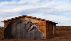 Land Art, Meet Street Art: Vast Graffiti Exhibition Takes Shape in the Arizona Desert