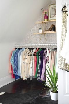 5 Ideas to Make The Most of Your Closet | Whether you've got a walk-in wardrobe, an open clothing rail in your bedroom, or something in between, you'll want to make it work for you and give you a thrill every time you visit. Here are five ideas for customizing your closet.
