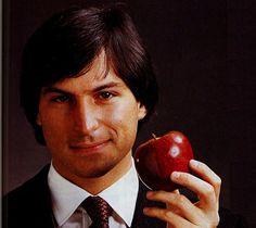 Give the world an Apple, Steve Jobs