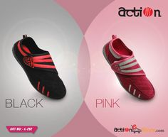 All you ladies in the house, which one will you go with #Black or #Pink? Checkout what all is in store for you in the house of #Action - http://bit.ly/Women-Collection