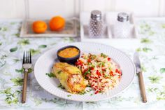 Risotto, Ethnic Recipes, Food, Seasons, Summer, Red Peppers, Meal, Eten, Seasons Of The Year