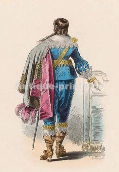 Seigneur, Règne De Louis XIII, d´après Bosse, 1633