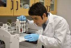 Bioengineer develops 3D printed polymer stent to fight esophageal cancer, receives $141K grant | Dr. Yunqing Kang of Florida Atlantic University has received a $141,743 grant from the National Cancer Institute in order to develop a biodegradable, 3D printed polymer stent. The 3D printed stent will decrease complications and act as a delivery system for cancer therapy drugs. [3D Printing: http://futuristicnews.com/tag/3d-printing/]