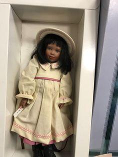 Dolls Top Zustand Zapf Puppe Vinyl Puppe 44 Cm