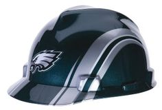 MSA Safety 10098087 NFL Philadelphia Eagles V-Gard Hard Hat e6c7233fa