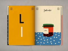 Letter l Hungarian alphabet book - available for any design enthusiast on Blurb!