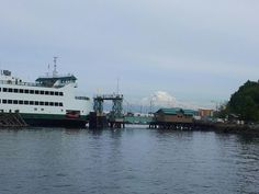 Vashon Island Ferry Dock