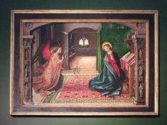 """Pedro BERRUGUETE: """"La Anunciación"""", Cartuja de Miraflores (Burgos, 1505)."""