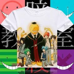 Assassination Classroom Short Sleeve Anime T-Shirt V16