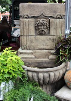 another view of the Greek fountain Poseidon!-only one available.  Sale price $698
