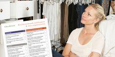 Hier ist die perfekte Hilfe für alle, die gerne ihren Kleiderschrank gezielt ausmisten und sinnvoll neu strukturieren möchten. Vorbereitungen ✓ Entrümpeln ✓