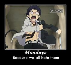 ao no exorcist funny   True that. #Blue Exorcist