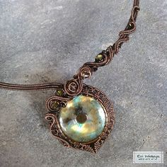 #eviwidjaja #indonesia #wireart #wirejewelry #wire #jewelry #metal #copper #patina #stone #natural #crystal #labradorite #pendant #necklace #choker #art #beautiful #ethnic #oneofakind #unique #passion #elegant #design #weaving #swirl #coiling #love #handmade #handmadejewelry