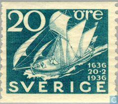 Sweden [SWE] - Mail 1936