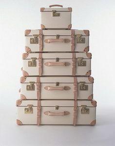 Globe Trotter Luggage #JetsetterCurator
