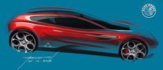 Alfa Romeo sketch battle