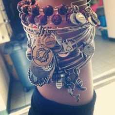 Love these #charmedarms!