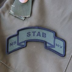 TAC-UP GEAR - 0265 STAB Scroll Patch
