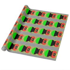 African Diaspora Flag Angel Wrapping Paper Black angel dressed in the Flag of the African Diaspora. Shows here on wrapping paper, favor boxes and wine boxes Lovely way to share your pride in your African American heritage. Design by @auntieshoe For more like this go to http://www.zazzle.com/angelflags?rf=238656250999501047&tc=PinterestWineWrappingPaper
