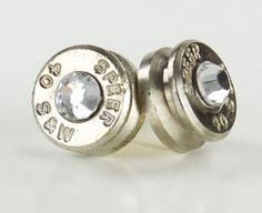bullet earrings.