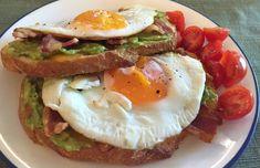 ▷ 3 snadné recepty na volské oko (aktualizováno 2020) Avocado Egg Bacon, Bacon Egg And Cheese, Mashed Avocado, Ripe Avocado, Avocado Toast, Aldi Meal Plan, Recipe Search, Meals For The Week, Breakfast Recipes