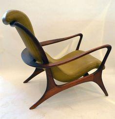 Outstanding and Stylish Lounge Chair and Ottoman by Vladimir Kagan image 5