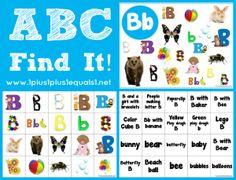 ABC Find it Letter Bb