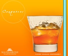 The Mandarine Napoléon liqueur speaks for itself in a Conqueror. Do you want to try Mandarine Napoléon in a different way? Try making one of our cocktails.